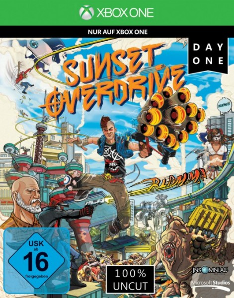 Insomniac Games, Sunset Overdrive Day One Edition, XB-One