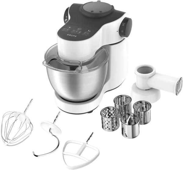 Krups MASTER PERFECT KA3121 Küchenmaschine, 1.000 Watt, weiß