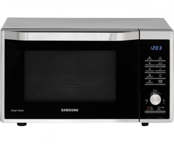 Samsung MC32J7055CT Mikrowelle, 32L, 900W, Heißluft, Grillfunktion, silber