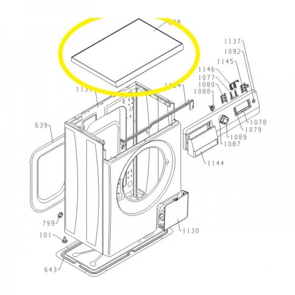 Gorenje Waschmaschine Arbeitsplatte Ps-10 Kpl Deckel