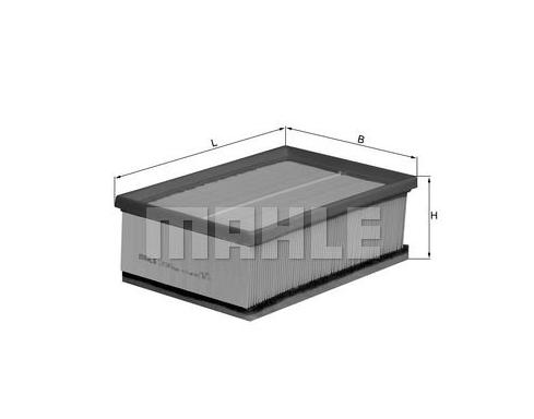 MAHLE LX 1045 ORIGINAL Luftfilter