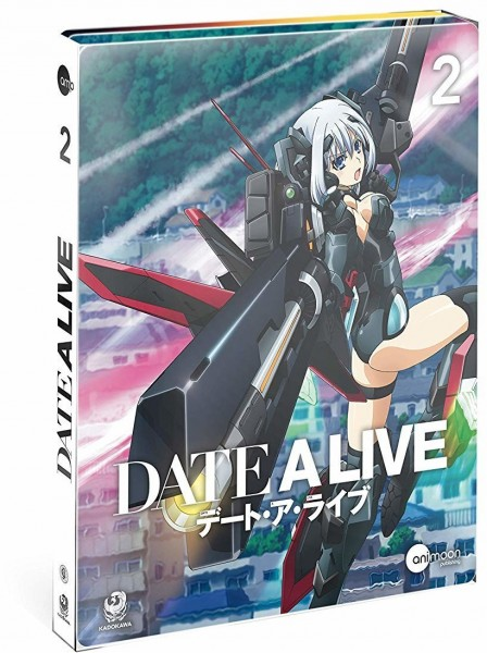 DATE A LIVE - Vol. 2 (Steelcase Edition) [Blu-ray]