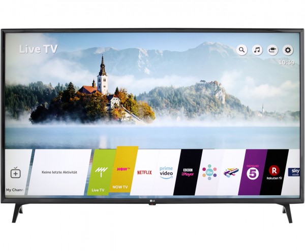 "LG 65UK6300LLB, 4K/UHD, LED, Smart TV, 164 cm [65""] mit HDR10 Pro, Ultra Surround und Google Assistant - Schwarz"
