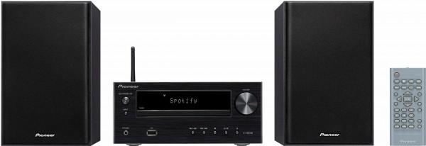 Pioneer X-HM36D Microanlage, FM-Tuner mit RDS, DAB, Internetradio, 30 W