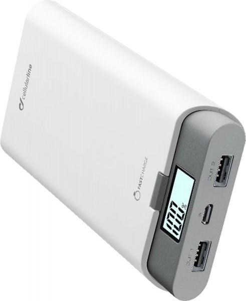 Cellular Line PowerUp USB-C (20.000mAh) Powerbank weiß