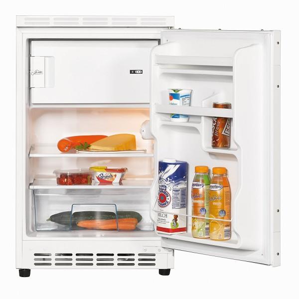 Amica UKS 16147 Unterbau- Kühlschrank mit Gefrierfach, A+, weiß, 50 cm breit