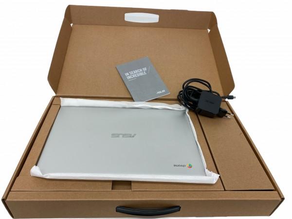 ASUS C425TA-H50081, Chromebook Laptop 14 Zoll Display, Intel Core™ m3, Silber