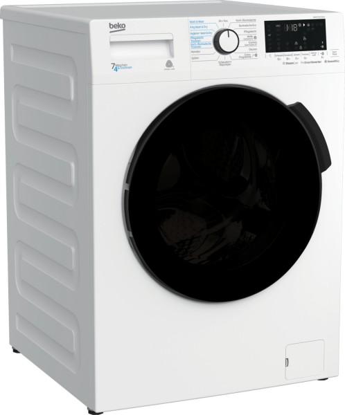 Beko WDW 75141 Steam Waschtrockner, 7 kg Waschen / 4 kg Trocknen, 1400rpm