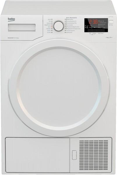 Beko DS8433PA0 Wärmepumpentrockner, 8kg, A++, weiß
