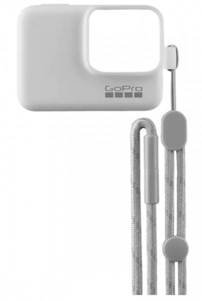 GOPRO 3661-197 Sleeve & Lanyard, Hülle, Weiss