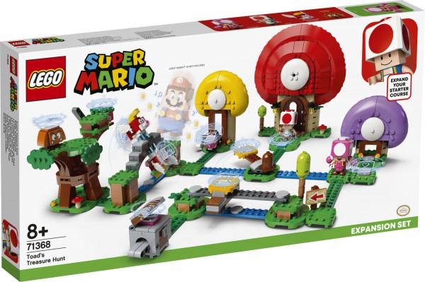 LEGO 71368 Toads Schatzsuche – Erweiterungsset Bausatz, Mehrfarbig