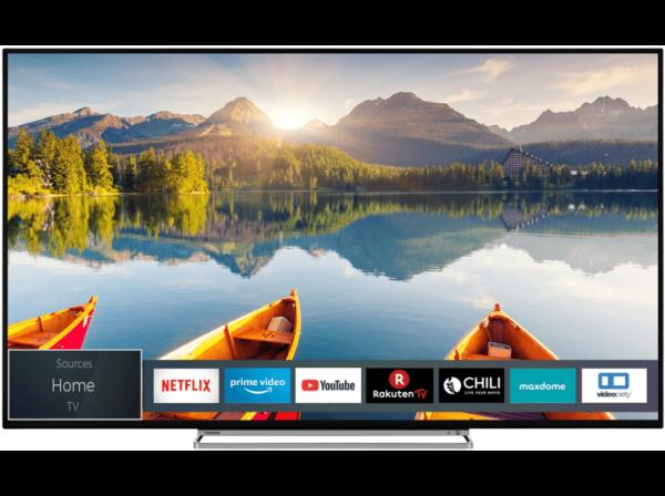 TOSHIBA 55U6863DAZ 4K/UHD TV 55 Zoll/139 cm, UHD 4K, SMART TV
