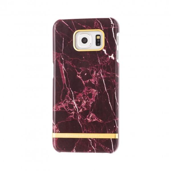 RICHMOND and Finch S7-13 Schutzhülle Marble für Samsung Galaxy S7 rot