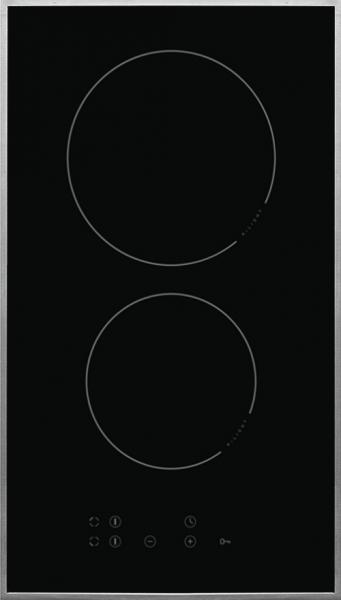 Amica KMC 13381 E Autarkes- Glaskeramikkochfeld, 30 cm, 2 Kochzonen