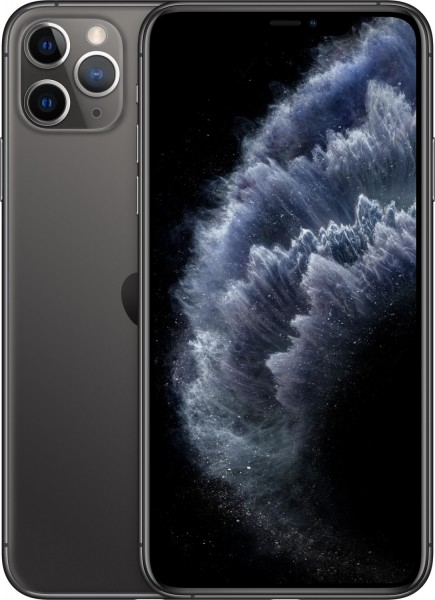 Apple iPhone 11 Pro Max 64GB Smartphone, spacegrau