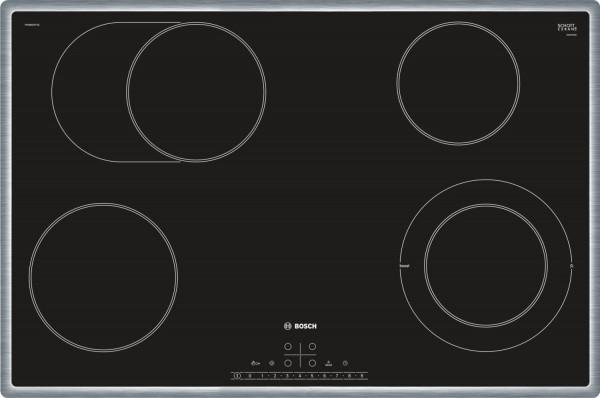 Bosch PKN845FP1E Serie 6 Glaskeramik-Kochfeld, 80 cm breit, Autark