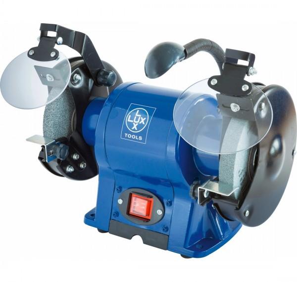 LUX Tools DS-350 LED Doppelschleifer, 350 W, 2950 U/Min.