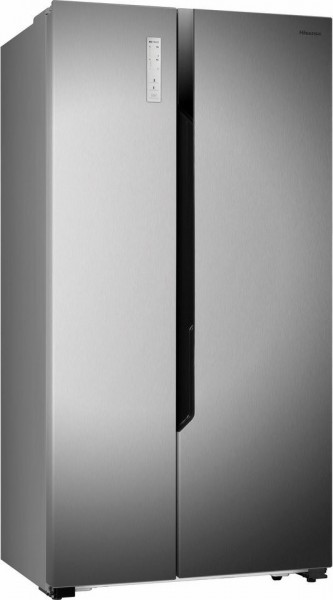 Hisense RS670N4BC3 Side-by-Side, No Frost, 516 Liter, A+++, silber