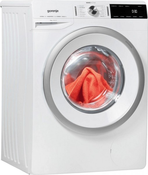 Gorenje WA866T Waschmaschine, 8 kg, 1600 U/Min, A+++, weiß
