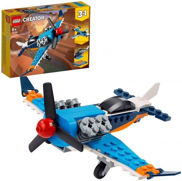LEGO 31099 Propellerflugzeug Bausatz