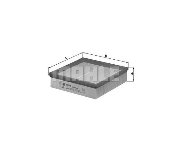 MAHLE LX 220 ORIGINAL Luftfilter