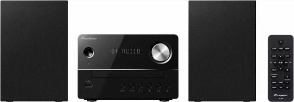 Pioneer X-EM26 Microanlage, CD, Bluetooth, USB, schwarz