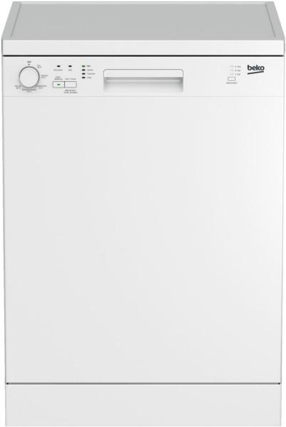 Beko DFN05L10W Stand- Geschirrspüler, 60 cm breit, weiß, A+