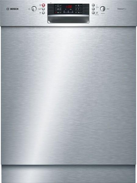 Bosch SMU46CS01E Geschirrspüler, unterbau, 60 cm, silber, A+++