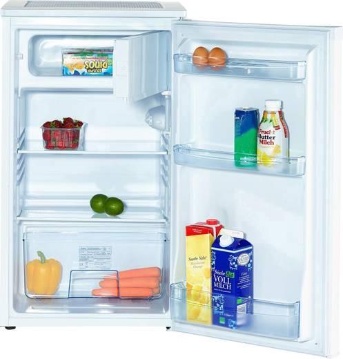 Amica KS 15195 W Tisch- Kühlschrank mit Gefrierfach, 84 cm hoch, A++, weiß