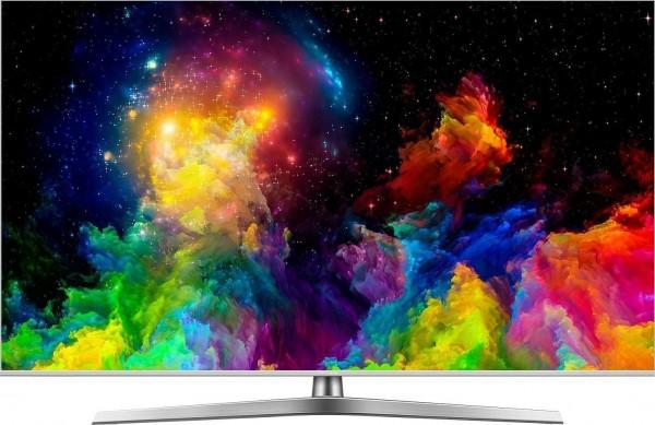 Hisense H65U7B ULED- Fernseher, 163 cm/65 Zoll, 4K UHD, Smart-TV, silber