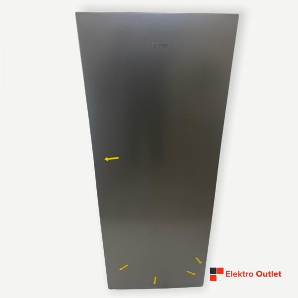 Exquisit KS320-V-010E Vollraumkühlschrank silber