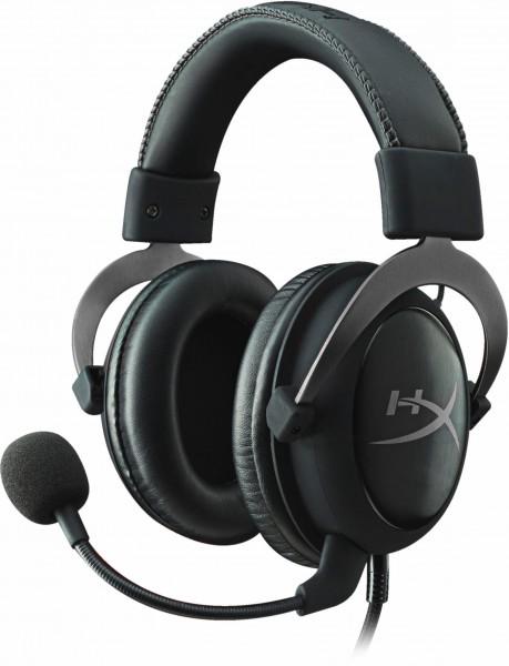 HyperX Cloud II Pro Gaming- Headset, Kopfhörer, dunkelgrau