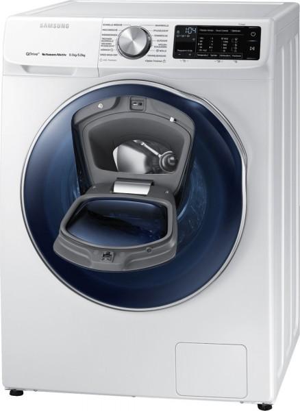 Samsung WD81N642OOW/EG Waschtrockner, 8kg Waschen, 5 kg Trocknen, 1400rpm