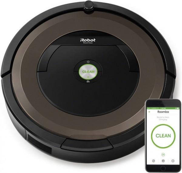 iRobot Roomba 896 Staubsauger-Roboter, schwarz/bronze