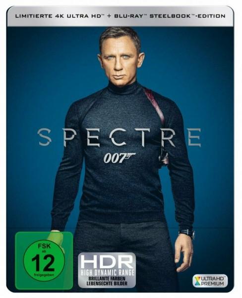 James Bond 007 - Spectre - 4K Ultra HD - Steelbook BLU-RAY