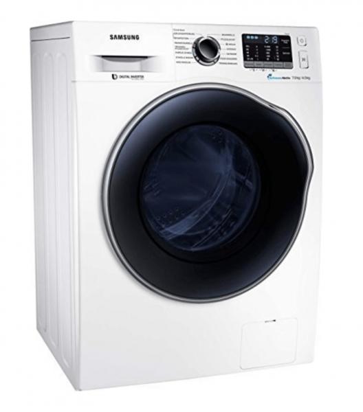Samsung WD72J5A00AW Waschtrockner, 7 kg Waschen / 4 kg Trocknen ,weiß