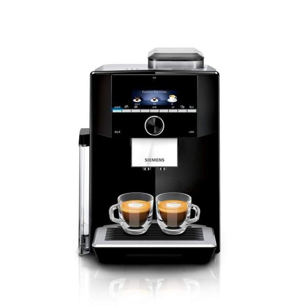 Siemens EQ.9 S300 TI923509DE Kaffeevollautomat, 19bar, Schwarz/Edelstahl