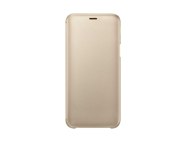Samsung EF-WJ600 Wallet Cover für Galaxy J6 Gold