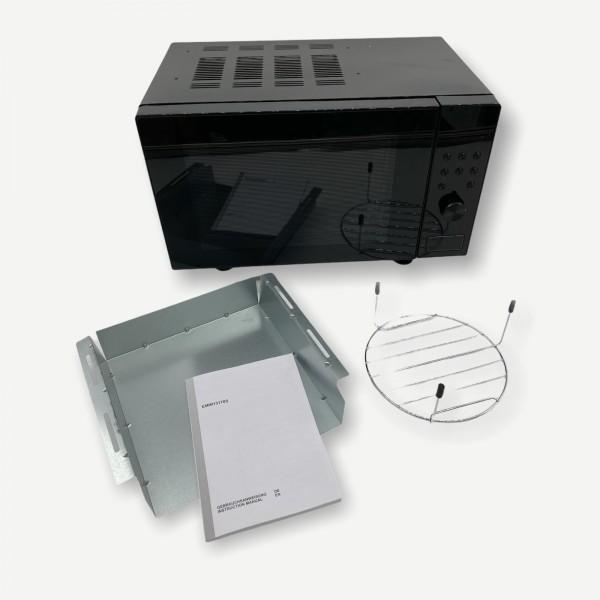 Amica EMW 13170 S Einbau- Mikrowelle, 20 Liter, 700W, schwarz