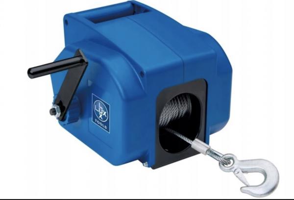 Lux Tools ESZ-1360/4310 Seilzug, 12 V, blau