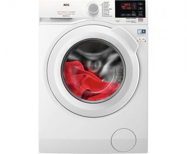 AEG Serie 6000 L6FB68480 Waschmaschine - Weiß, 8 kg, 1400 U/Min, C