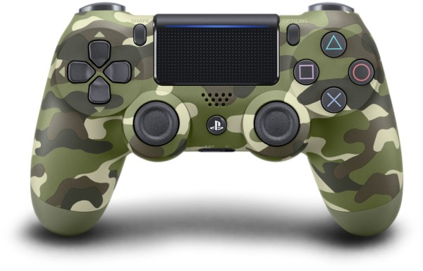 Sony Wireless Dualshock Controller V.2 Controller green camouflage