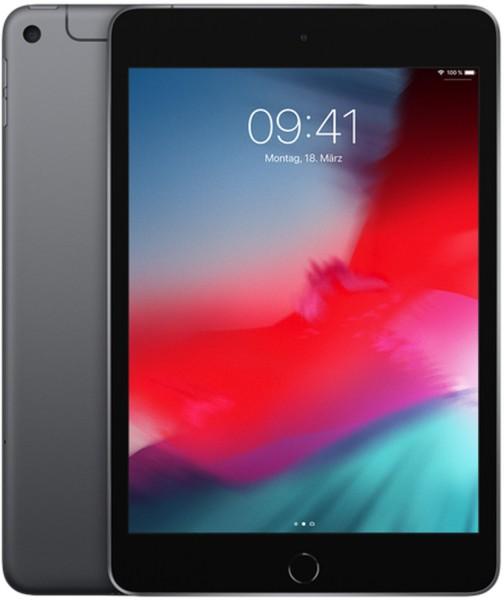 APPLE iPad mini (2019) WiFi + Cellular, Tablet, 256 GB, 7,9 Zoll, Space Grey