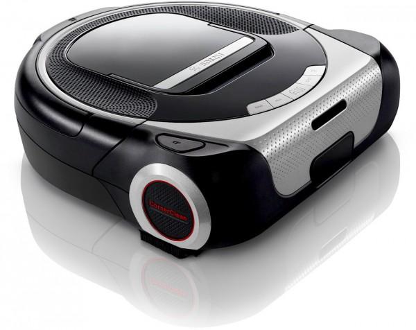 Bosch BCR1ACG Saugroboter, Home Connect, Smart CornerClean, Silber /Schwarz