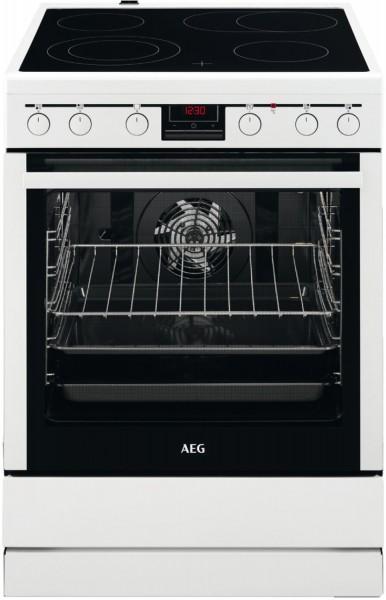 AEG CCB6440BBW Elektro- Standherd, 60cm breit, weiß