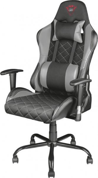 TRUST GXT 707G Gaming Stuhl, Schwarz/Grau