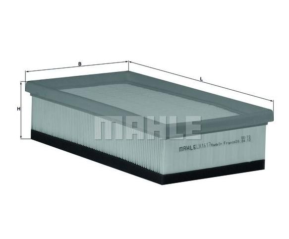 MAHLE LX 113 ORIGINAL Luftfilter