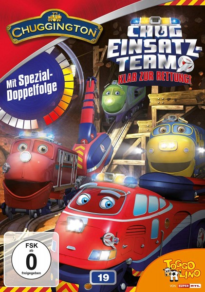 Chuggington Vol. 19: Chug Einatzteam - Klar zur Rettung! [DVD]