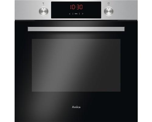 Amica EBX 944 620 E Einbau- Backofen, Autark, 77 Liter, silber / schwarz