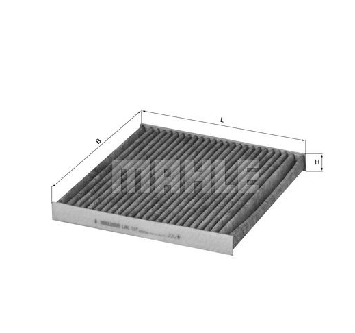 MAHLE LAK 107 ORIGINAL Filter, Innenraumluft Aktivkohlefilter